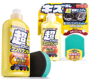 Cleaner do lakieru SOFT99 -  Micro Liquid Compound Dark 250ml